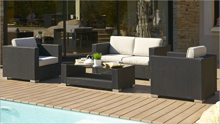vente en ligne de salon de jardin petits prix actuliens. Black Bedroom Furniture Sets. Home Design Ideas